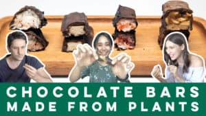 Chocolate Bars Made From Plants