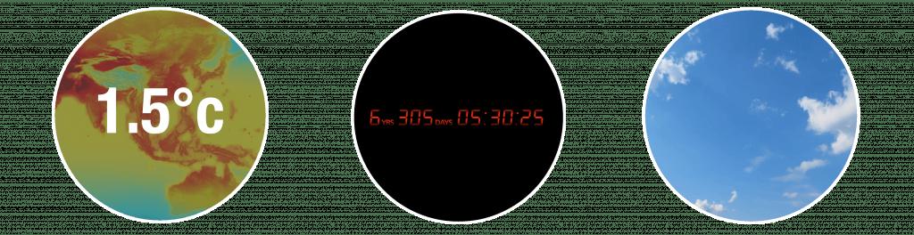 Circles Climate Clock