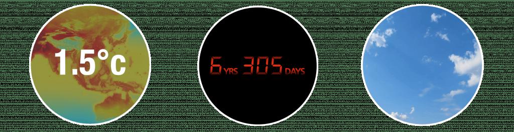 Climate Clock 1.5c