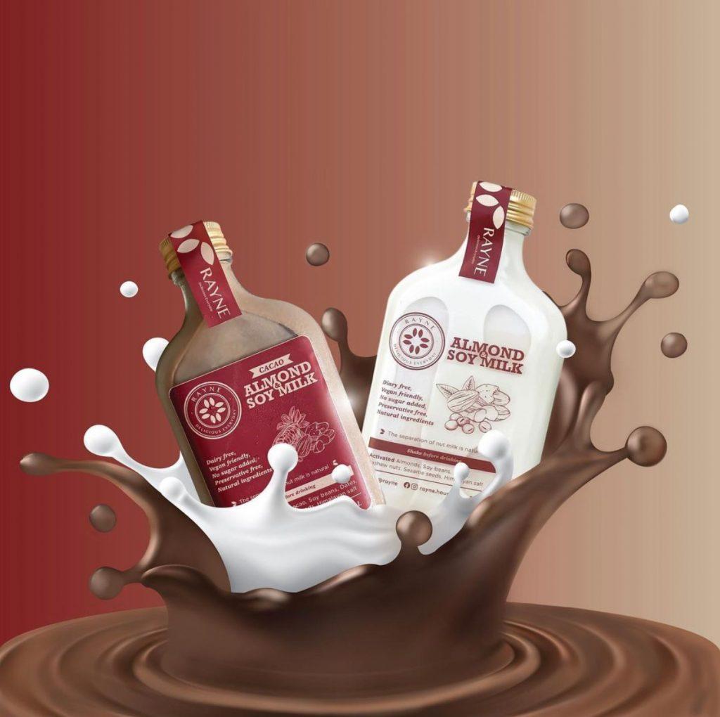 Rayne Almond Soy Milk