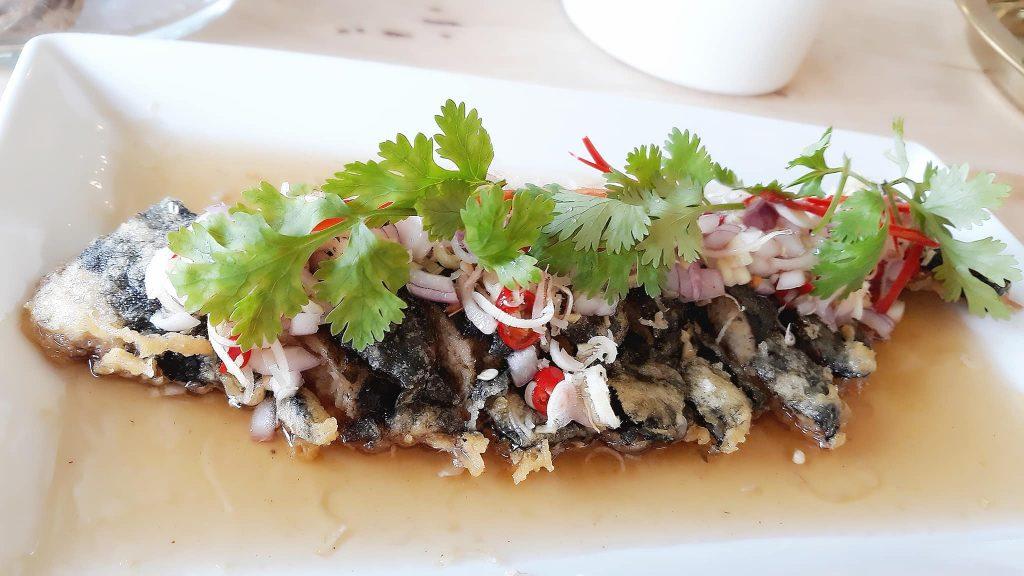 Loving Hut Vegan Fish Dishes