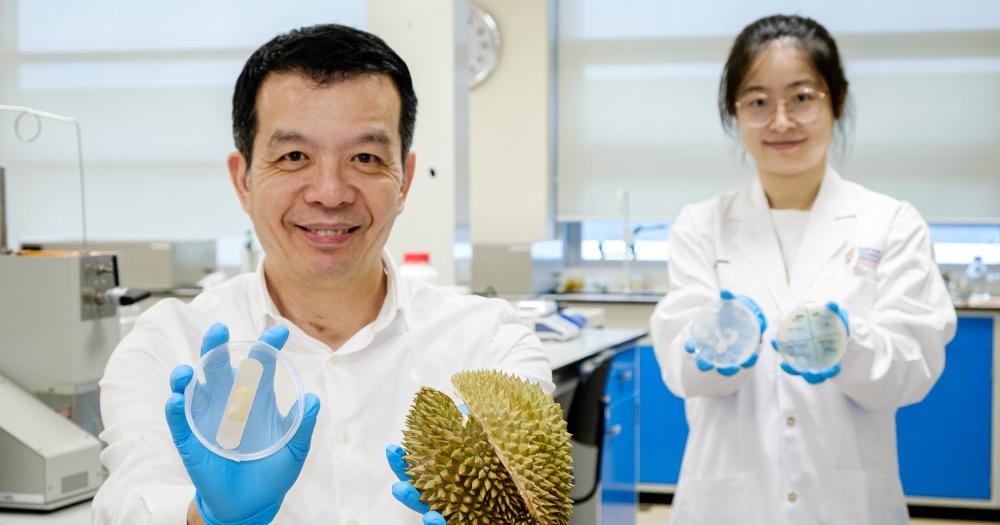 Durian Skin to bandage