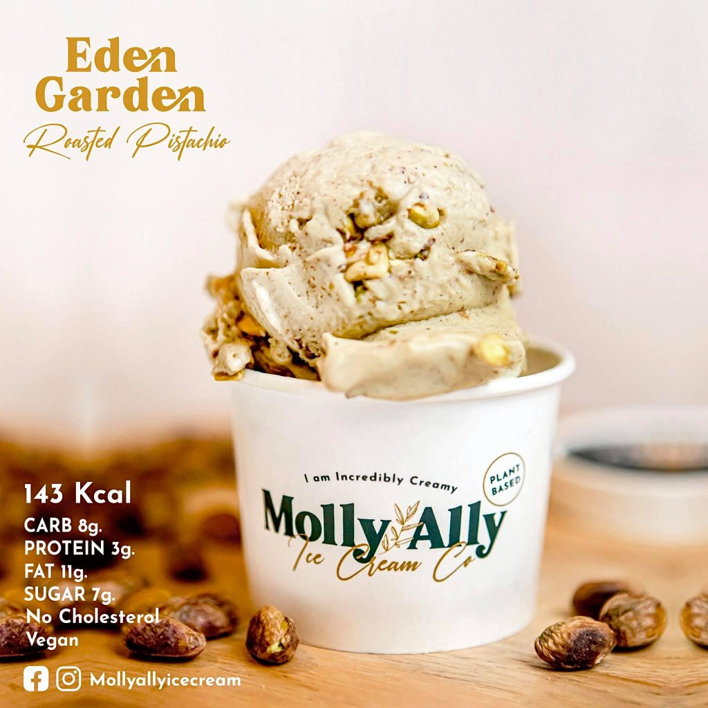 Molly Ally Vegan Ice Cream Thailand