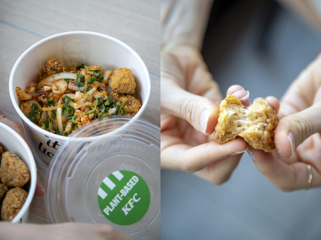 Plant-based KFC Thailand