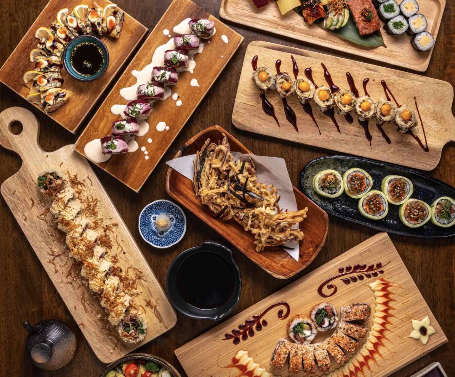 Waki Waki Vegetarian Sushi